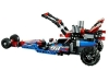LEGO 42010 - dragster laterala