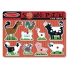 Puzzle de lemn cu sunete Animale de la Ferma Melissa and Doug MD 0726
