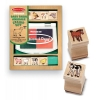 Set de stampile Pui de animale domestice Melissa and Doug MD 1639