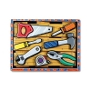 Puzzle din lemn in relief Uneltele Melissa and Doug MD 3731