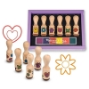 Set de stampile Happy Handle Melissa and Doug MD 2407