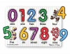 Puzzle lemn Cifrele - Melissa and Doug MD 3273