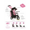 Tricicleta Smart Trike Chic 4 in 1 - Pink