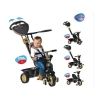 Smart Trike Dream Gold - roata din fata este controlata de maner