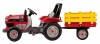 Peg Perego Tractor DIESEL cu remorca si pedale