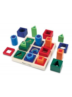 Set incastrare forme de sortat pe tabla Melissa and Doug MD 0582