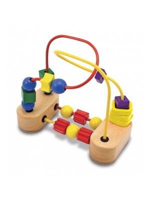 Roller-coaster cu margele Melissa and Doug MD 3042